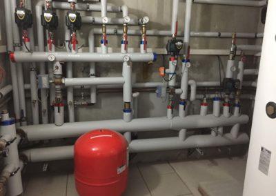 impianto nuova caldaia e bollitore